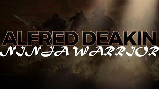 Alfred Deakin Ninja Warrior 2017